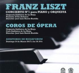 Carátula CD Coros de ópera de Verdi interpretados por la Orquesta Sinfónica de La Rioja y el Coro Sinfónico de La Rioja