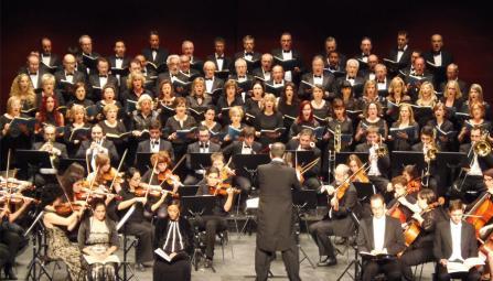 """Concierto """"Misa de Réquiem"""" en el teatro Cervantes de Arnedo"""